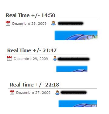 Se a audiência é divulgada em tempo real (real-time), o horário deveria ser publicado com exatidão. Não acham?
