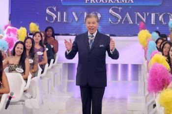 """Compare o visual do Silvio Santos """" Antes """" e """" Depois """""""