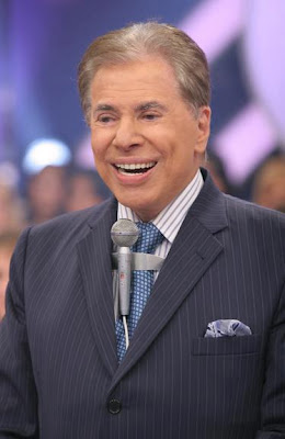 "Compare o visual do Silvio Santos "" Antes "" e "" Depois """