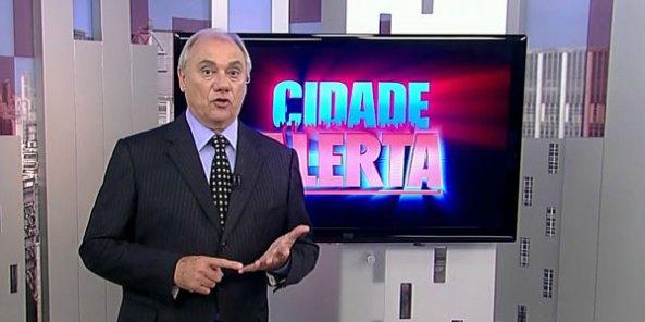 Prévia SP - Cidade Alerta em seu novo horário amarga o terceiro lugar.