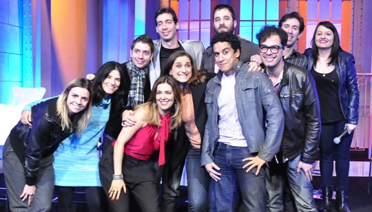 "Elenco original do ""Saturday Night Live"" brasileiro"