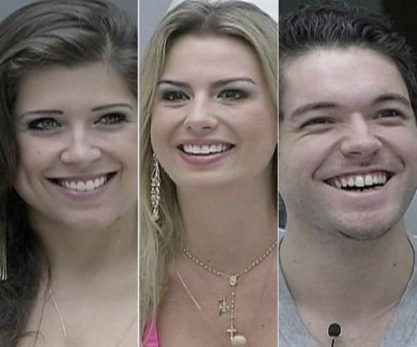 Andressa, Fernanda ou Nasser? Quem deve levar o prêmio?