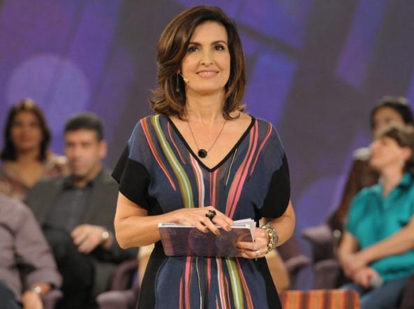 """Fátima Bernardes, que pode passar a apresentar merchandising no seu """"Encontro"""""""