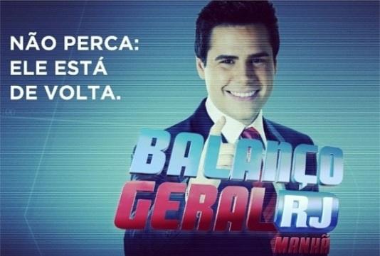 Bacci está fazendo sucesso nas manhãs cariocas da Record
