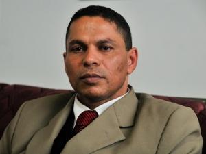 O advogado Mizael Bispo, acusado de matar a ex-namorada, Mércia Nakashima (Foto: Júlia Chequer/R7)
