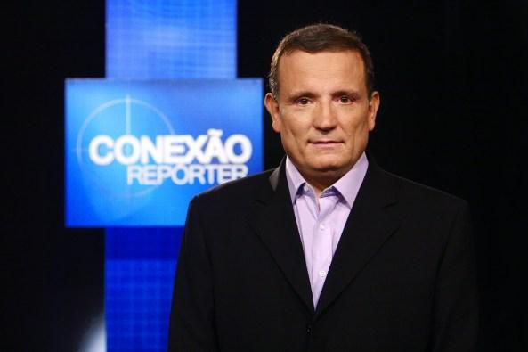 O jornalista Roberto Cabrini